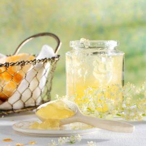Holunderblüten-Zitronengelee