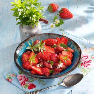 Erdbeer-Rhabarber- Kompott