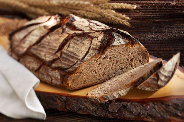 Selbst gebackenes Brot ...